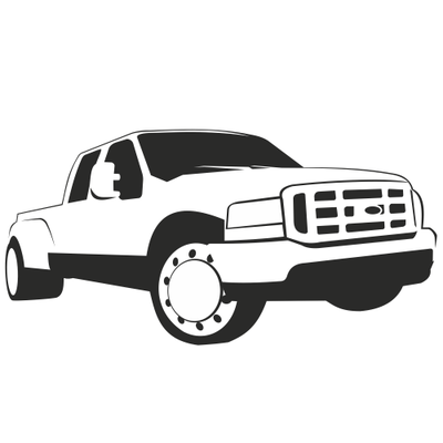 Ford Pickup Truck Sketch Clipart Clipart Me