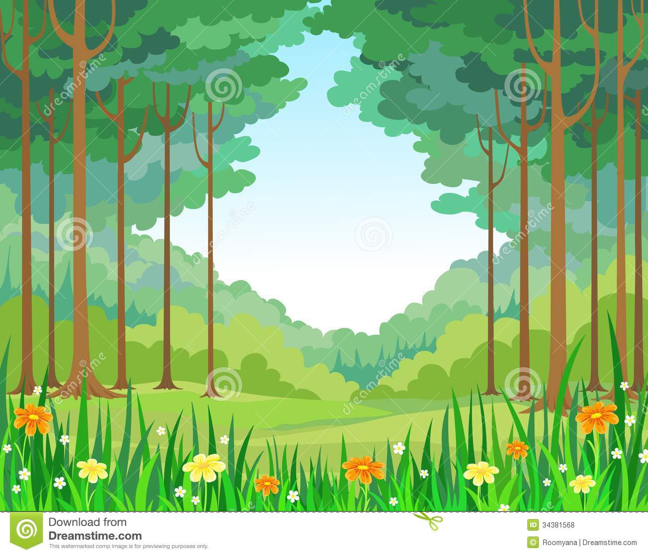 Forest Background Clipart Vector Backgro-Forest Background Clipart Vector Background Forest-6