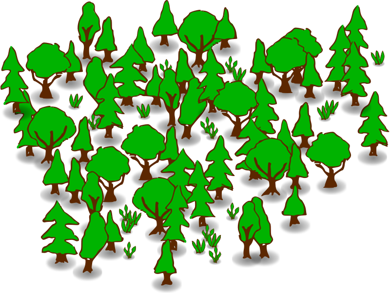 Forest Clip Art-Forest Clip Art-9