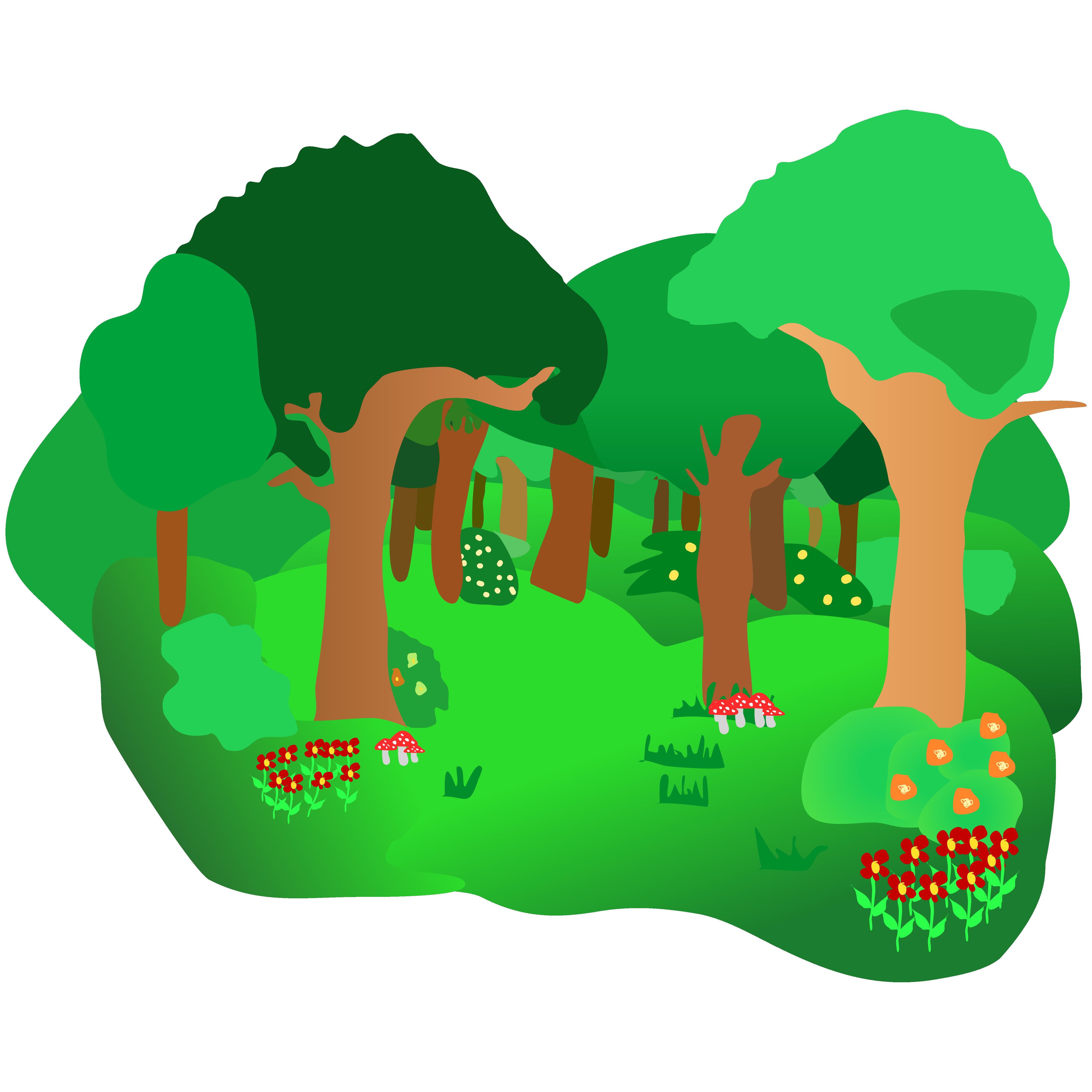 Forest Clip Art-Forest Clip Art-0