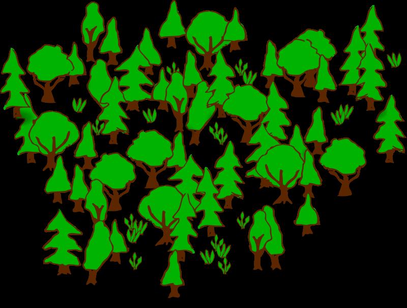 Forest Clip Art-Forest Clip Art-5