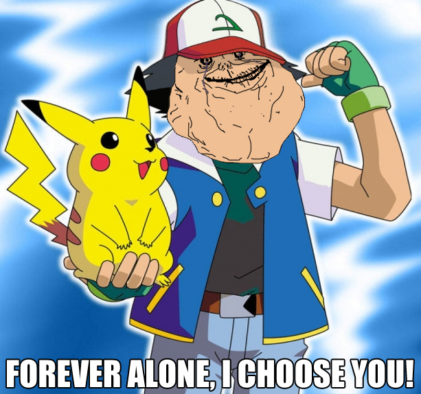Forever alone I choose you by - Forever Alone Clipart