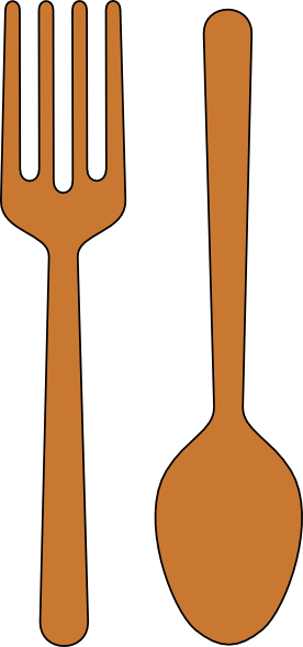 Fork And Spoon Clip Art At Clker Com Vector Clip Art Online Royalty