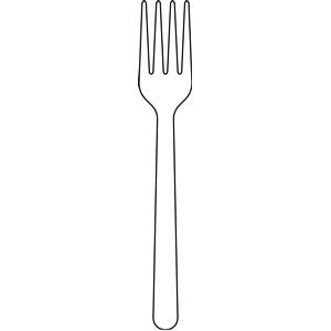 Fork Clip Art Fork Coloring Page Fork Cl-Fork Clip Art Fork Coloring Page Fork Clip Art Clipart Knife And Fork-5