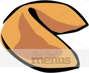 Fortune Cookie Clipart - Fortune Cookie Clip Art