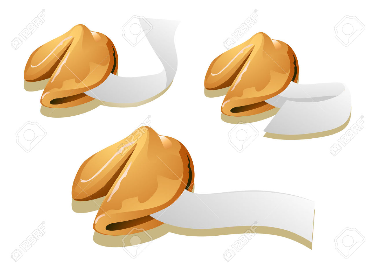 Fortune Cookies Stock Vector - 4615098