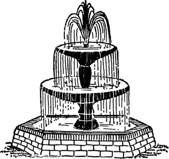 Fountain Clipart   Free .-Fountain Clipart   Free .-13