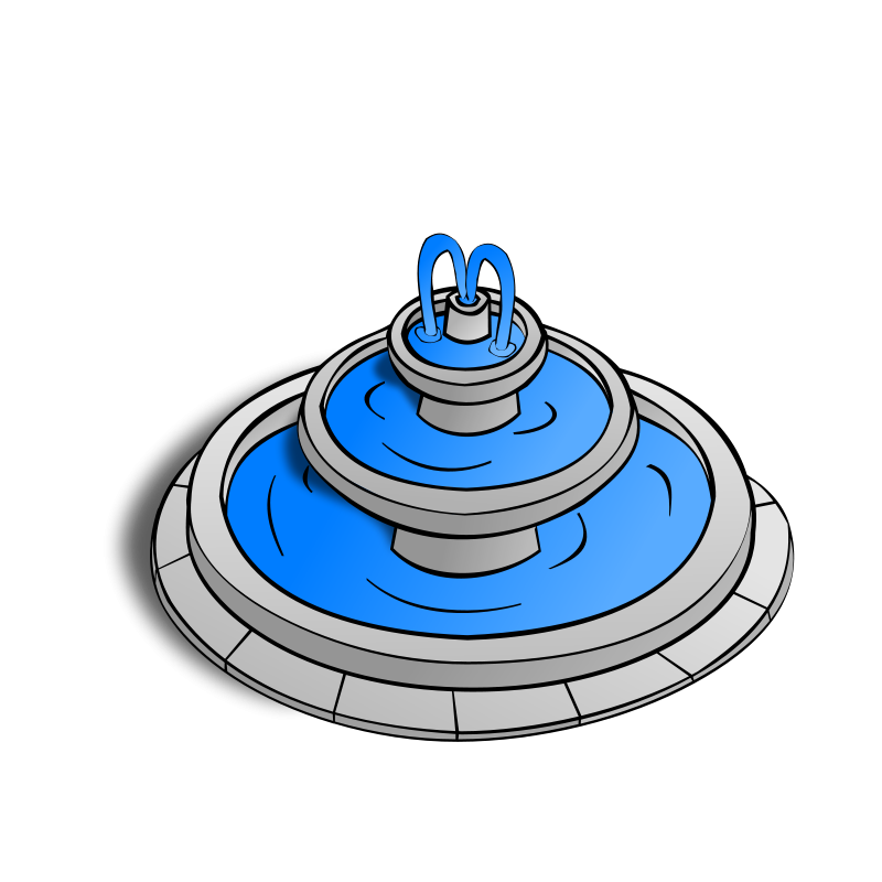 Fountain cliparts