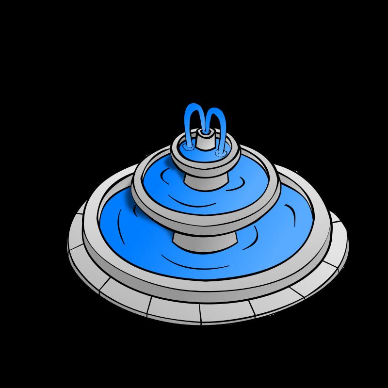 Fountain cliparts-Fountain cliparts-3