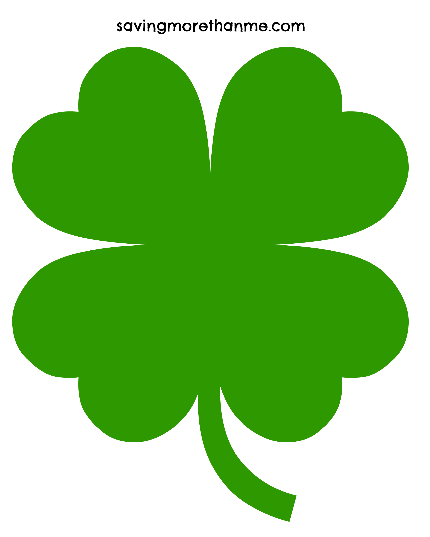 Four Leaf Clover Clip Art