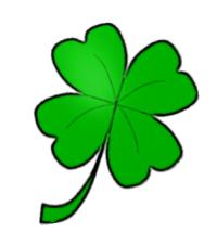 Four Leaf Clover Clipart .