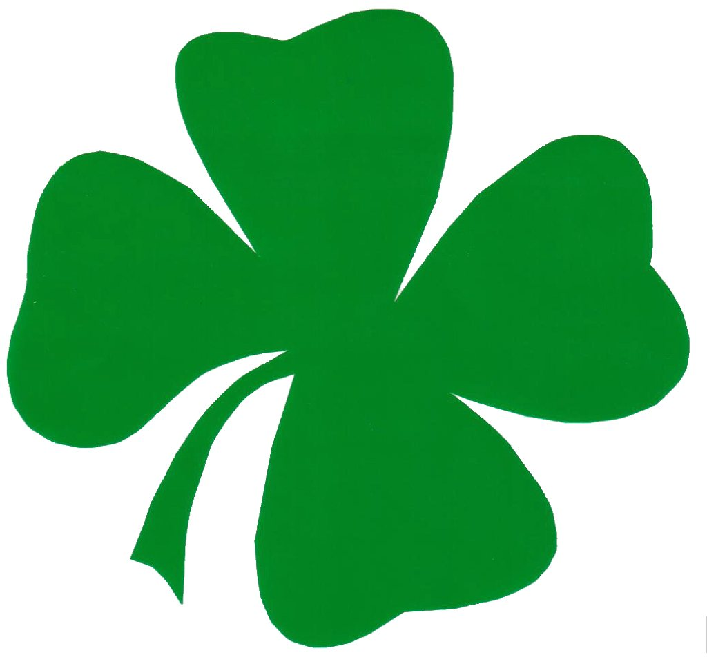Four Leaf Clover Sticker Great .