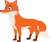 fox clipart. Size: 87 Kb