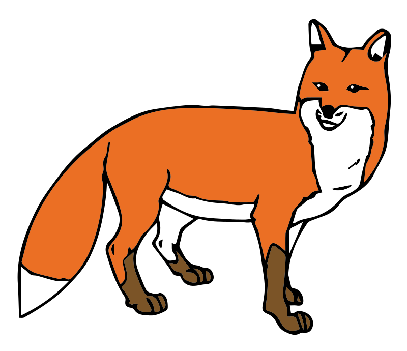Fox free to use cliparts