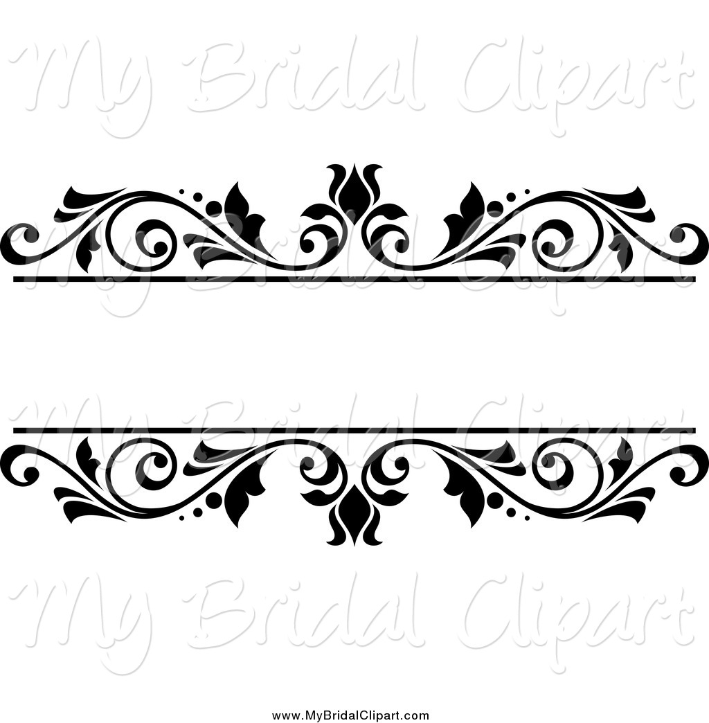 wedding clip art black and wh