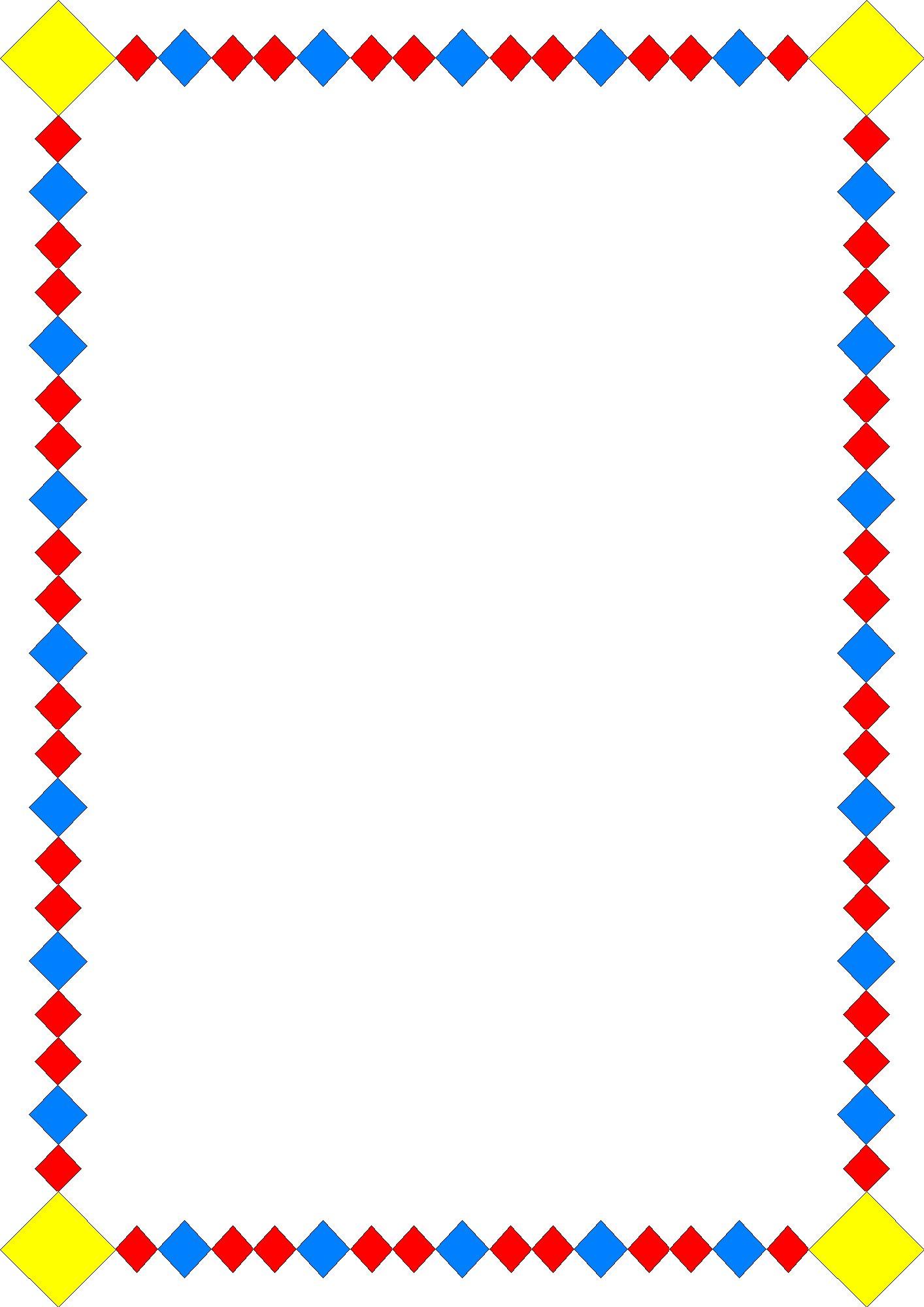 Frames Clip Art - Clipart Frames And Borders