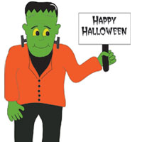 Frankenstein Teachers Love Smart Boards