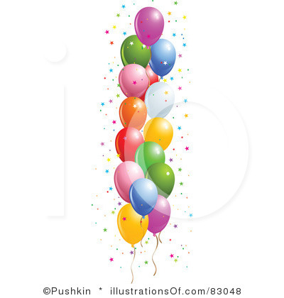 free birthday balloon clip art