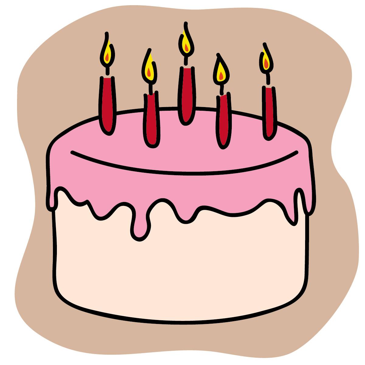 free birthday cake clip art