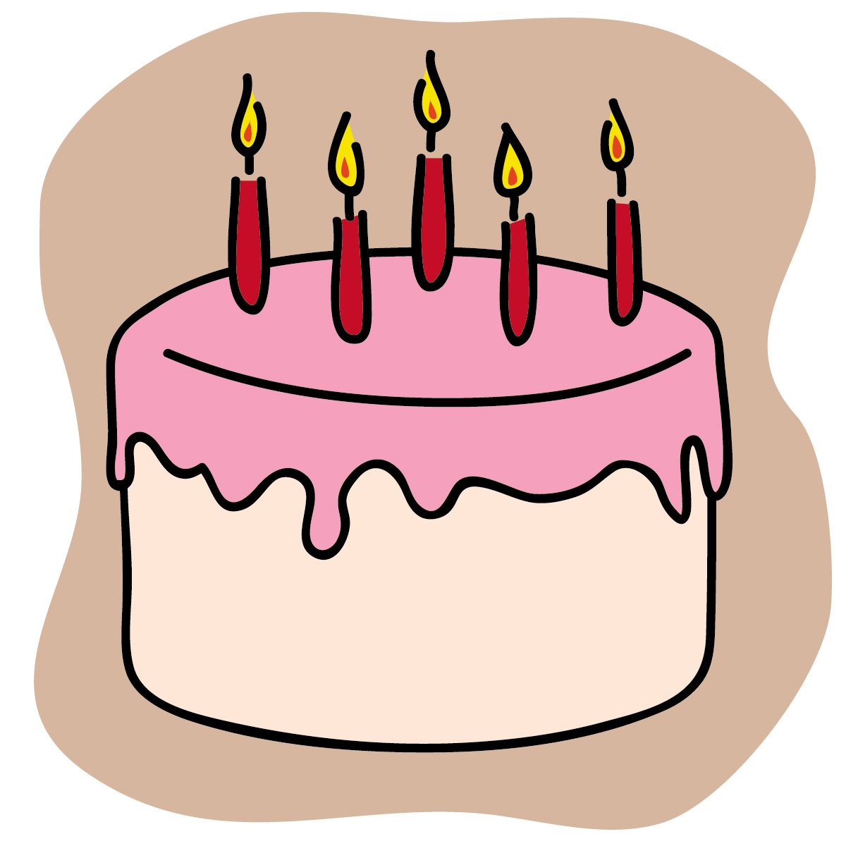 Free Birthday Cake Clip Art-free birthday cake clip art-5
