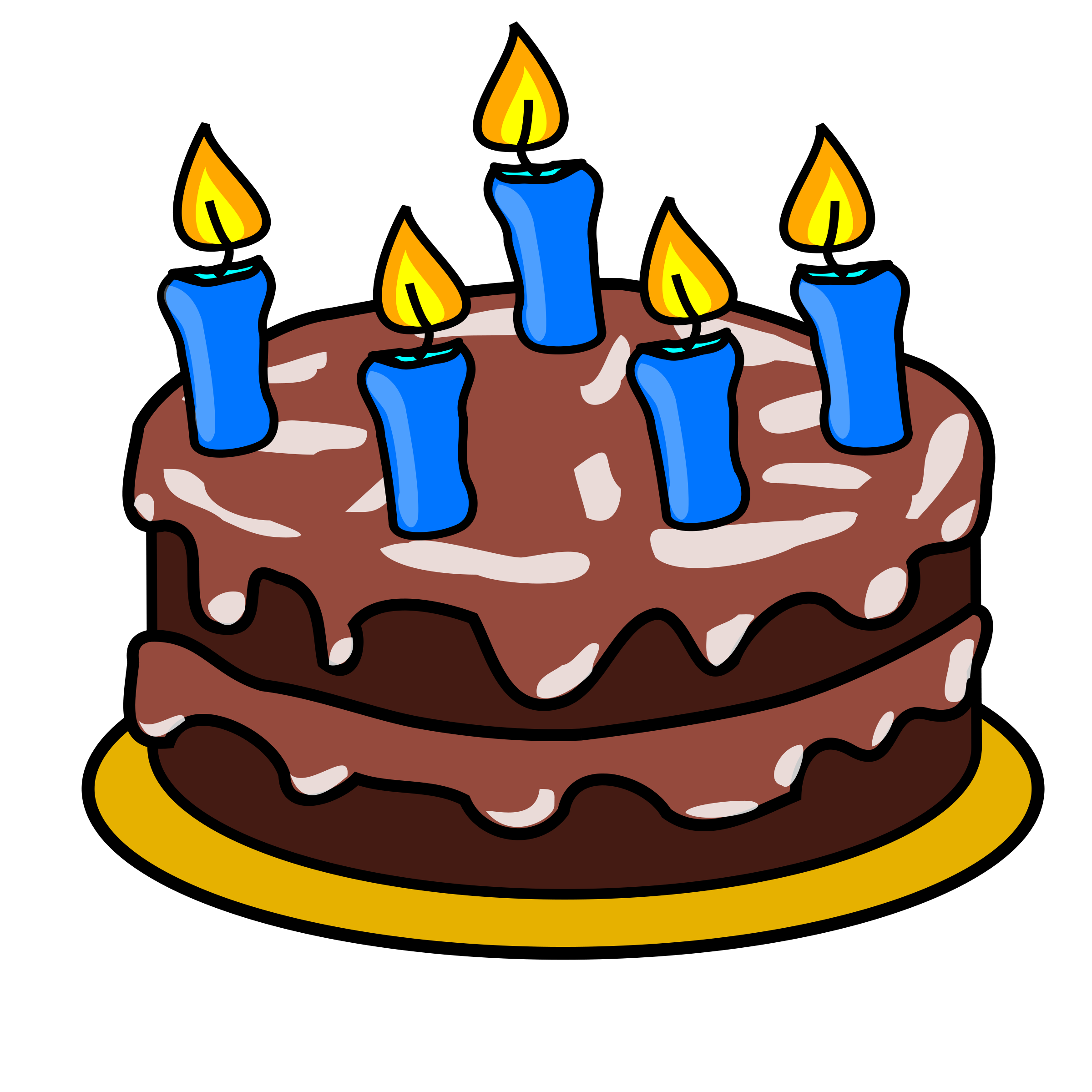 Free Birthday Cake Clip Art-free birthday cake clip art-0
