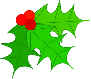 free christmas clip art holly - Free Holly Clipart