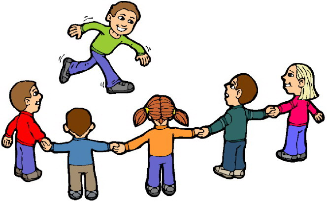 free clip art children playing