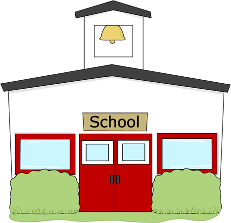 Free Clip Art School Building-free clip art school building-3