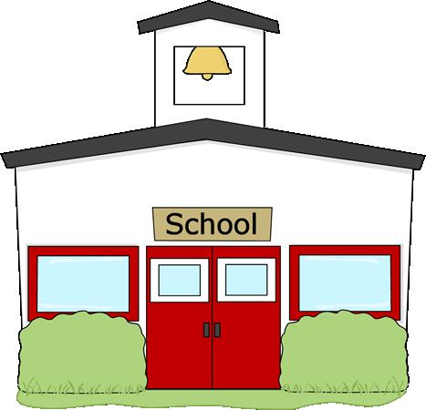 free clip art school building