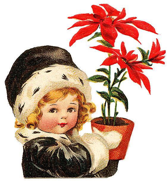 free vintage christmas clip art