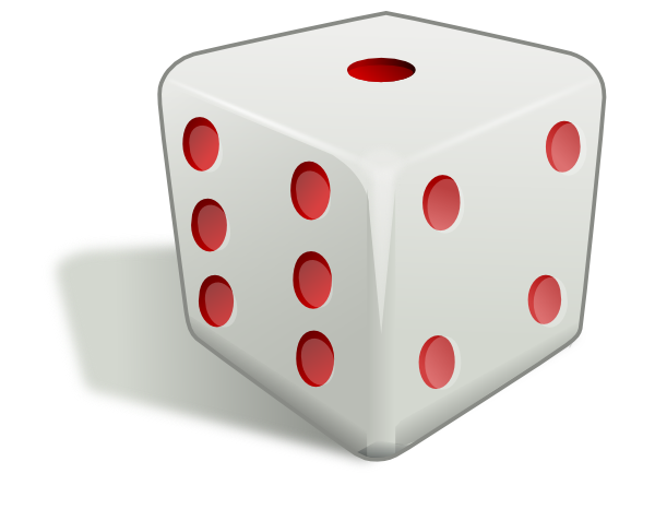 Free 3D Dice Clip Art u0026middot; dice2