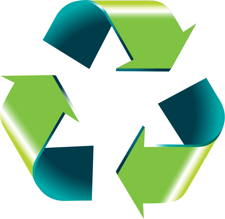 Free 3D Recycle Logo Clip Art