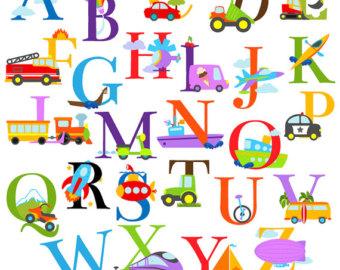 Free Alphabet Clipart - .