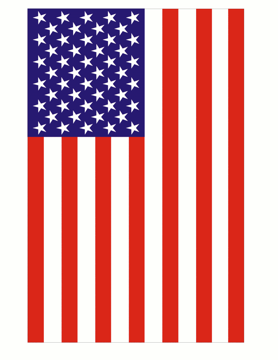 Free american flag clipart 2 2