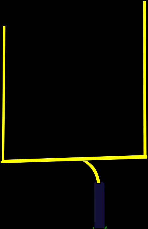 Free American Football Goal Clip Art