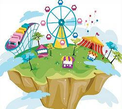 Free amusement park clipart - Amusement Park Clip Art