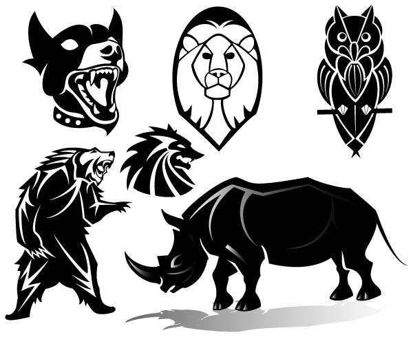 Free Animals Vector Clip Art Images-Free Animals Vector Clip Art Images-9