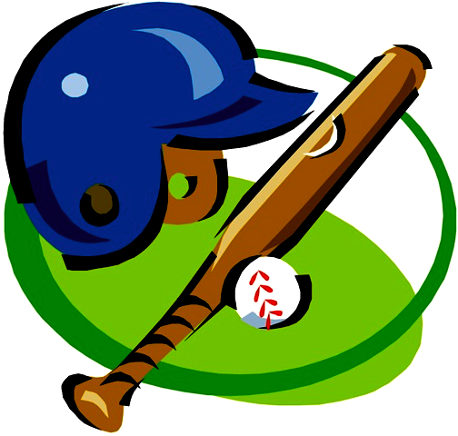 Free animated clipart and still graphics-Free animated clipart and still graphics of baseball players, baseballs, bats, gloves and other related sports images.-16