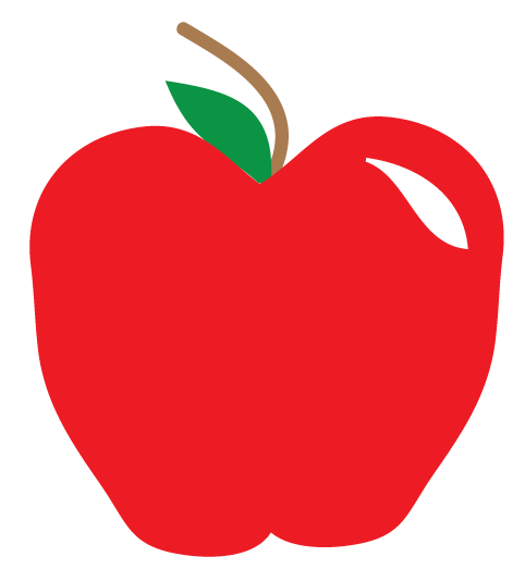 Free Apple Clipart and printables for art projects, teachers, and