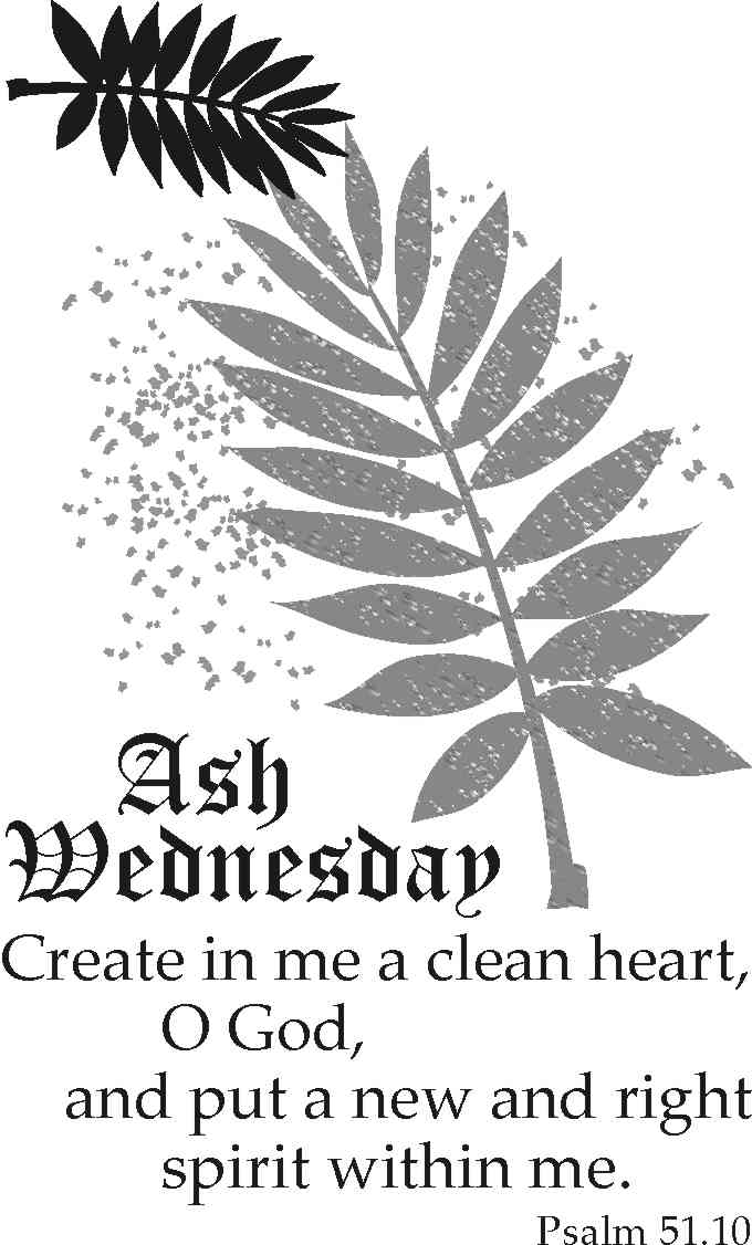 Free Ash Wednesday Clipart Search Results The Works