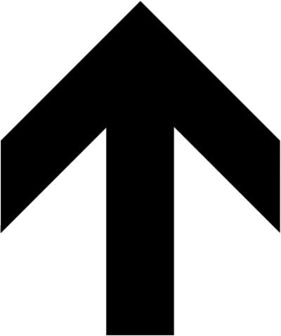 Free Bu0026amp;W Signs Clipar - Up Arrow Clip Art