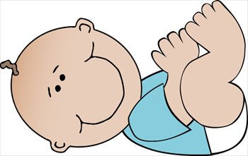 Free Baby Clipart Images. baby-boy-lying