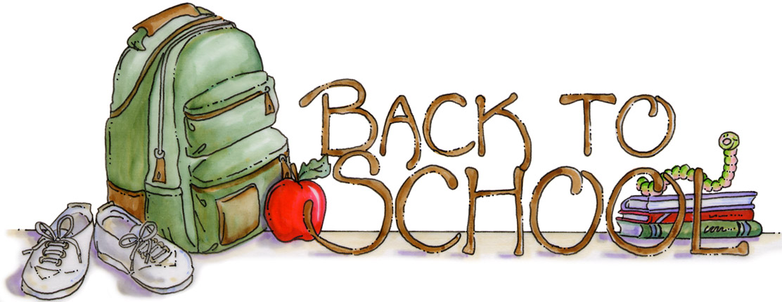 Free back to school clip art .