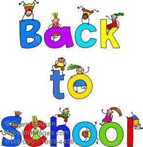 Free Back to School Clip Art
