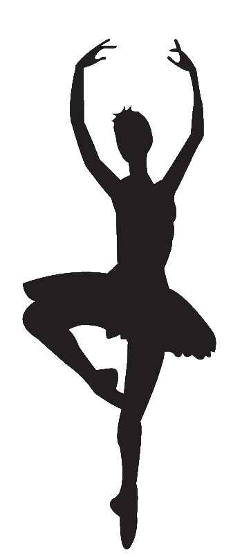 Free Ballet Clipart. tap dancer silhouette
