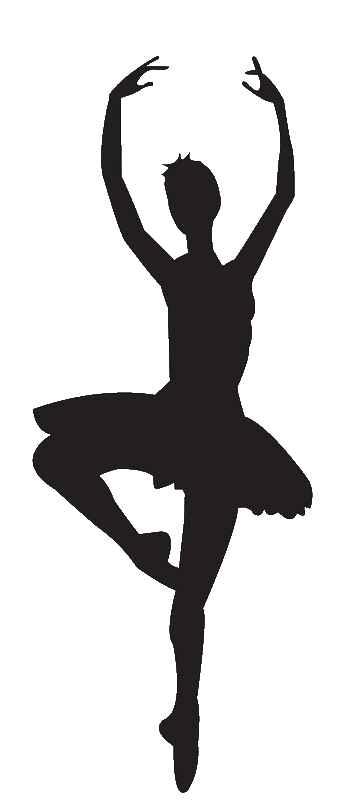 Free Ballet Clipart. tap dancer silhouette
