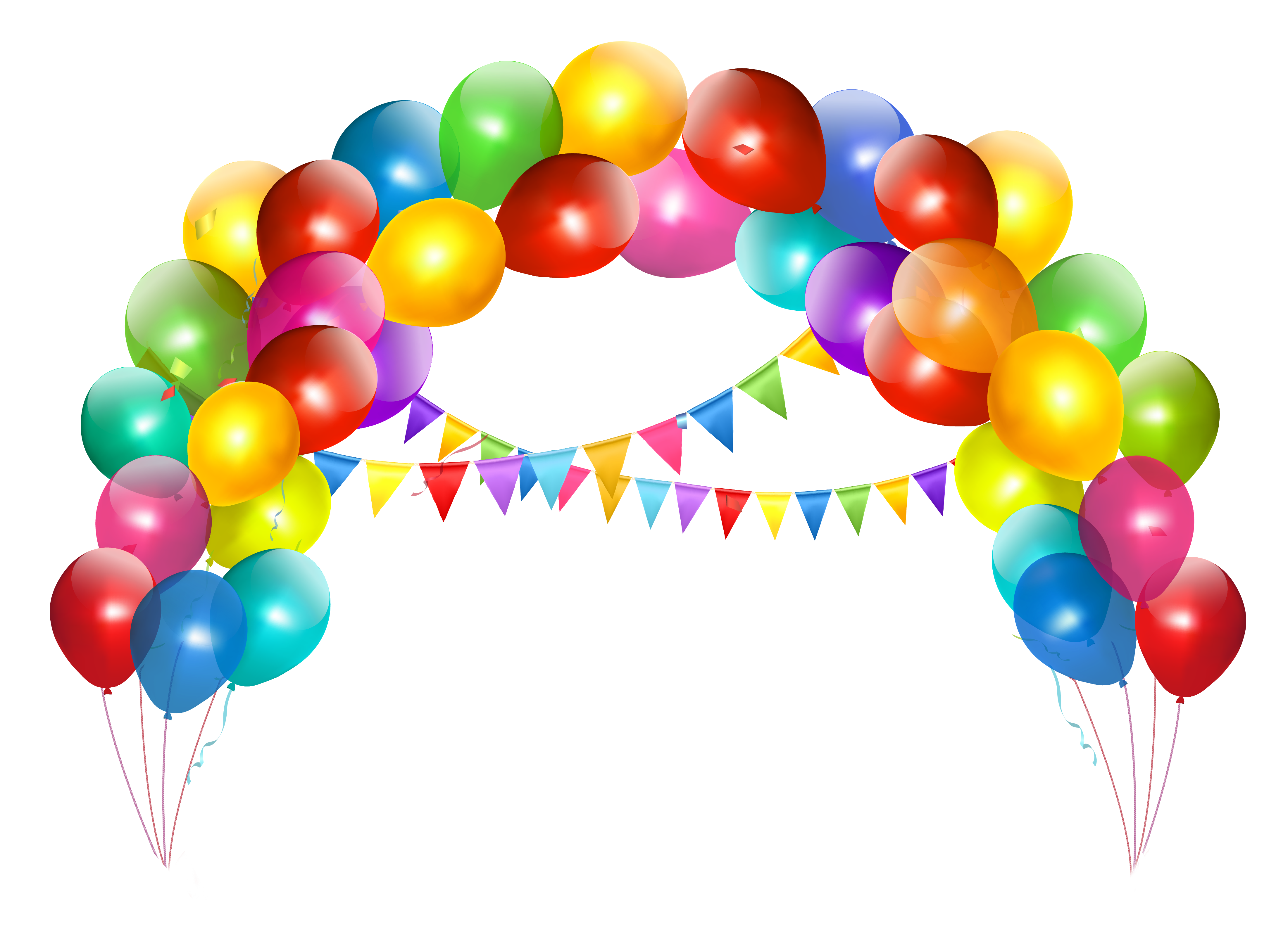 Balloon Arch Transparent PNG