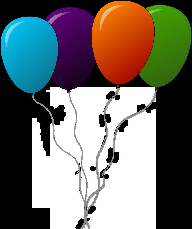 Free Balloons Clip Art