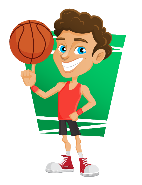 Free Basketball Player Clip Art