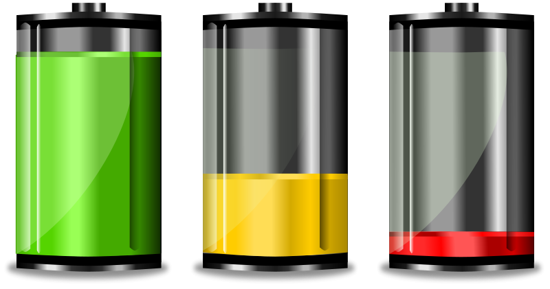 Battery Icon Clip Art At Clke